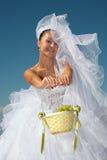 Noiva & uvas Foto de Stock Royalty Free