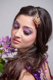 Noiva asiática bonita Imagens de Stock