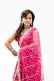 Noiva bengali bonita Fotografia de Stock Royalty Free