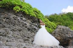 A noiva bonita Fotografia de Stock