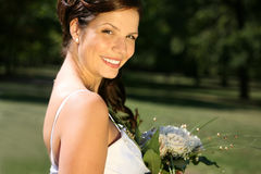 Noiva bonita Foto de Stock