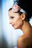 Noiva bonita do retrato imagem de stock royalty free
