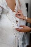 Noiva com amigos imagem de stock royalty free