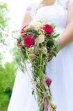 Noiva com flor Fotografia de Stock