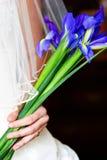 Noiva com flores fotos de stock