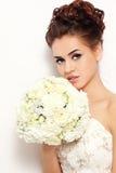 Noiva com ramalhete Fotos de Stock