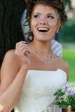Noiva com ramalhete do casamento. #7 Imagens de Stock Royalty Free