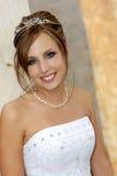 Noiva da entrada fotografia de stock
