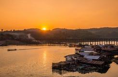 Noiva da madeira de Tailândia Imagens de Stock