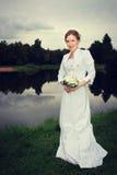 Noiva da mulher Fotografia de Stock