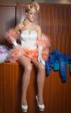 Noiva de Barbie imagem de stock