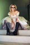 Noiva de Gothik fotos de stock royalty free