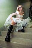Noiva de Gothik foto de stock