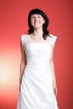 Noiva de sorriso feliz Imagem de Stock