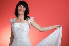 Noiva de sorriso feliz Imagens de Stock