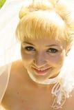 Noiva do close up Imagem de Stock