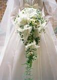 Noiva e Bouquet-9 Fotografia de Stock Royalty Free