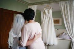 Noiva e mum Imagem de Stock