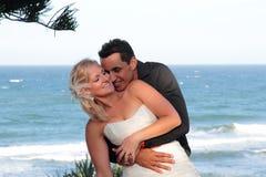 Noiva e noivo 1 Fotografia de Stock Royalty Free