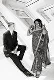 Noiva e noivo Imagem de Stock Royalty Free