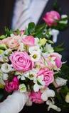 Noiva e noivo Fotos de Stock