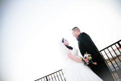 Noiva e noivo foto de stock