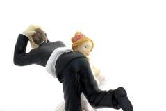 Noiva e noivo. Imagens de Stock