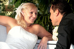 Noiva e noivo 4 Imagem de Stock Royalty Free