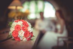 Noiva e noivo Fotos de Stock Royalty Free