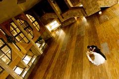 A noiva e o noivo Foto de Stock Royalty Free