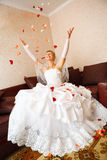 Noiva e petails Fotos de Stock