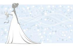 Noiva elegante Imagens de Stock Royalty Free