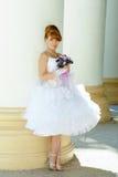 Noiva encantador do ruivo Fotos de Stock Royalty Free