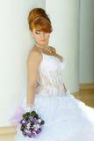 Noiva encantador do ruivo Foto de Stock Royalty Free