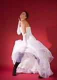 Noiva engraçada Imagem de Stock Royalty Free