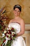 Noiva ereta Fotografia de Stock Royalty Free
