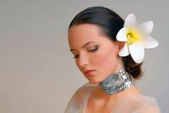 Noiva extravagante fotos de stock royalty free