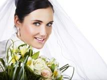 Noiva feliz Imagens de Stock Royalty Free