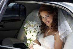 Noiva feliz imagem de stock royalty free