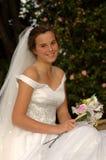 Noiva feliz Foto de Stock