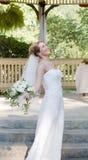 Noiva feliz fotografia de stock