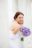Noiva feliz Fotos de Stock Royalty Free