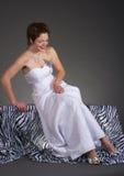Noiva feliz Foto de Stock Royalty Free