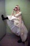 Noiva gótico Foto de Stock Royalty Free