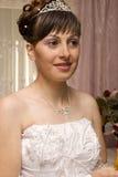 A noiva gosta de uma princesa Imagens de Stock