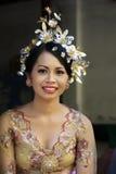 Noiva indonésia Foto de Stock Royalty Free