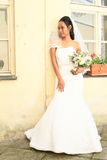 Noiva no casamento Foto de Stock Royalty Free