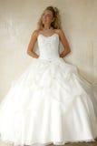 Noiva no vestido Fotos de Stock Royalty Free