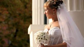 A noiva olha The Sun vídeos de arquivo