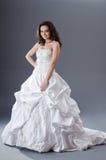 Noiva que levanta no estúdio Fotografia de Stock